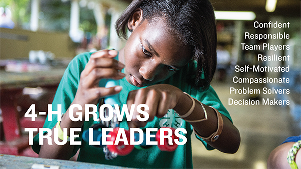 4-H Grows True Leaders