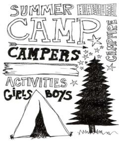 Camp Activities drawing