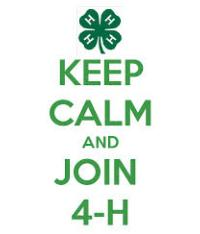Keep Calm & Join 4-H