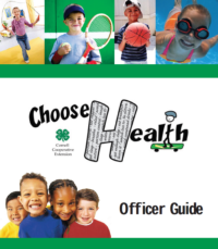 Healthy Living Officer guide cover