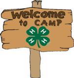 4-H camp sign - Cute