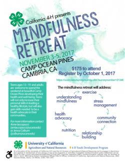 4-H Mindfulness wknd